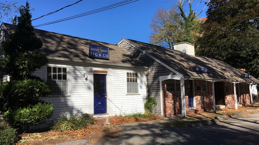 Locust Street Sign Co. Falmouth, MA