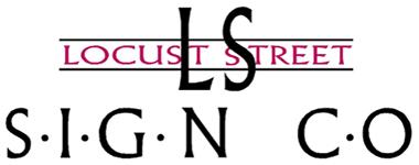 Locust Street Sign Mobile Retina Logo