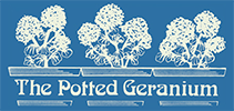 Potted Geranium Logo