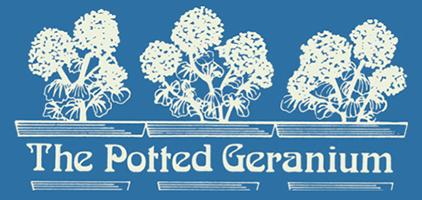 Potted Geranium Retina Logo